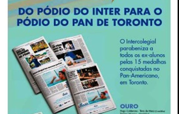 Intercolegial no Pan de Toronto