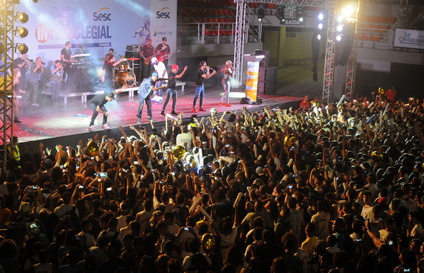 SHOW DO GRUPO MELANINA CARIOCA NA ABERTURA DO 34º INTERCOLEGIAL